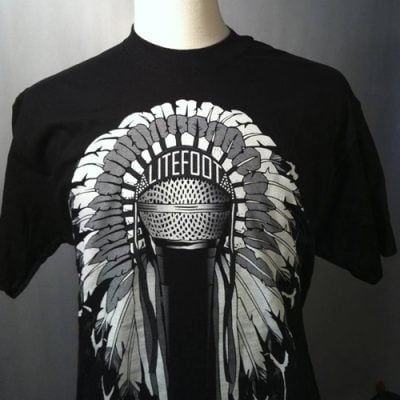 Litefoot Chief MC Headress T-shirtreduced