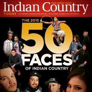 50 faces of Indian Country cover